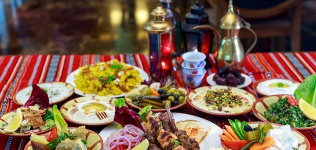 كيف أرتب سفرة رمضان قلعه الكويت الموقع الشامل لكل ما تبحث عنه